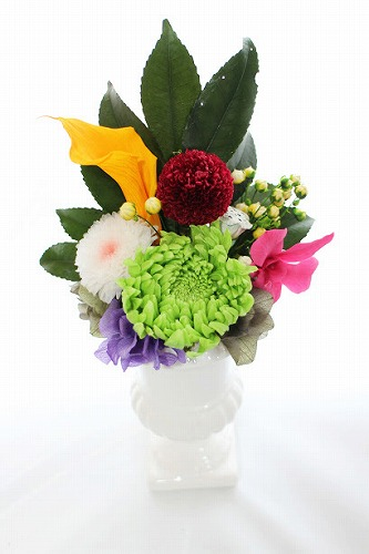 15.仏花